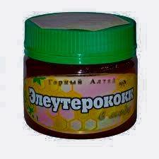 Элеутерококк в меду