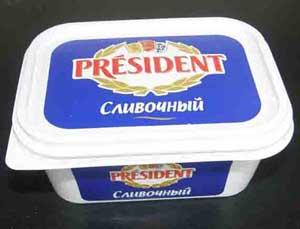 """Сыр плавленый """"Президент"""""""