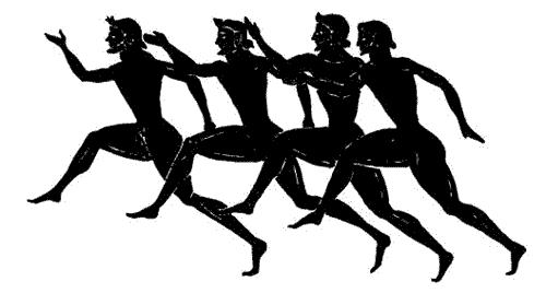 Медленный бег на античных фресках