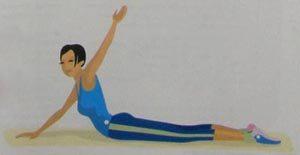 Легкая йога - пятая неделя занятий
