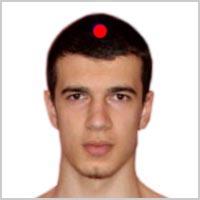 Акупунктурная точка на голове