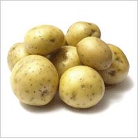горка картофелин