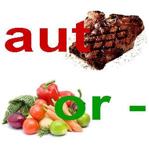 Мясо или овощи