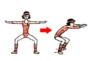 Скругление спины