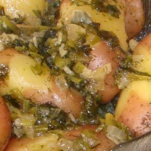 Петрушка картофель