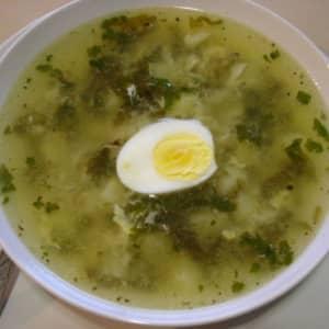 Щавель суп рассольник