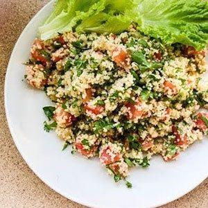 арабский салат с кукурузой